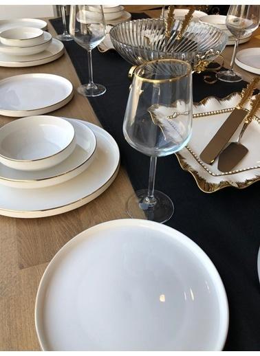 ROSSEV Yemek Takımı Blanca 38 Parça 6 Kişilik Renkli